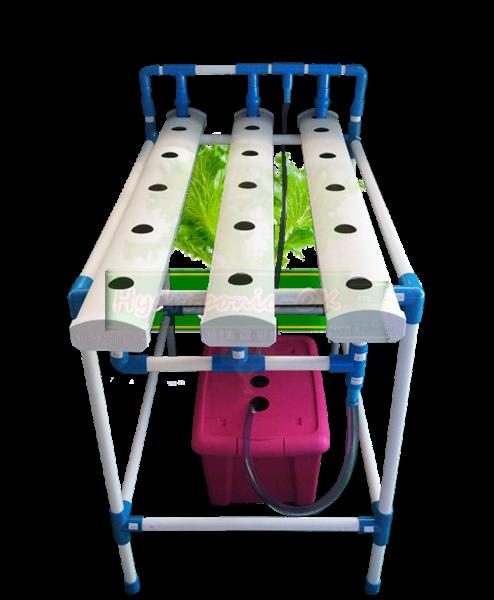 ชุดปลูกผักไฮโดรโปนิกส์ 15 ช่อง